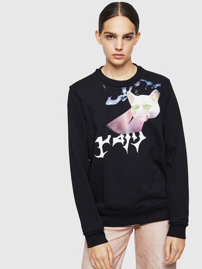 Diesel - F-LYANY-G, Black - Sweaters - Image 1