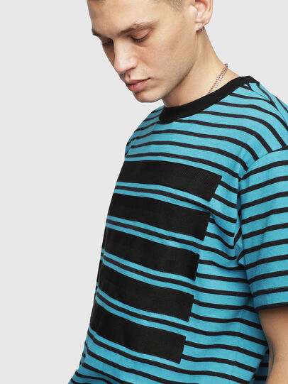 Diesel - T-WALLACE-STRIPE,  - T-Shirts - Image 3