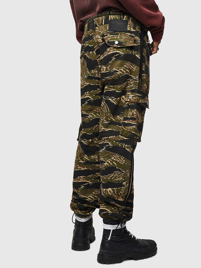 Diesel - P-LUZAVIC-TIGERCAM, Military Green - Pants - Image 6
