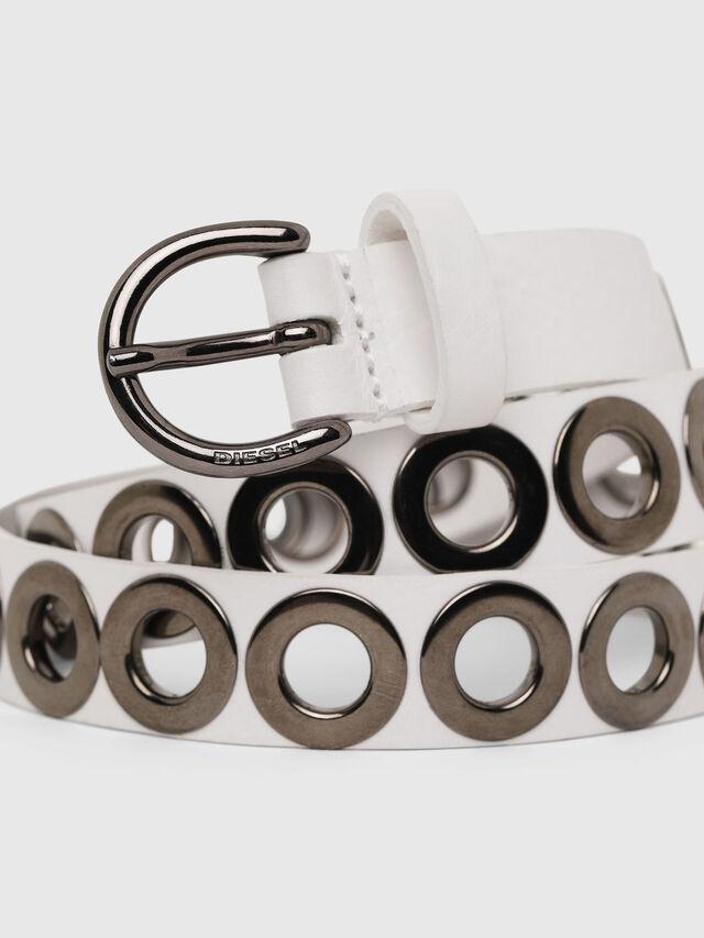 Diesel - B-SPARK, White - Belts - Image 2