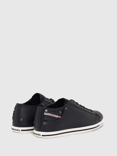 Diesel - EXPOSURE LOW I, Dark Blue - Sneakers - Image 3