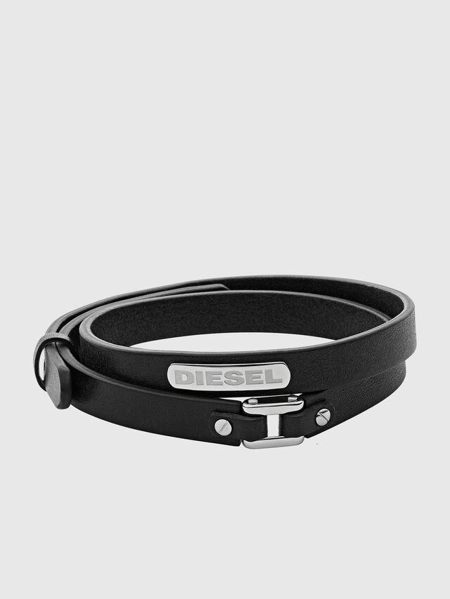 Diesel BRACELET DX0971, Black - Bracelets - Image 1