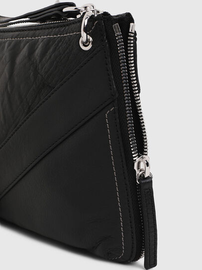 Diesel - LE-LITTSYY, Black Leather - Clutches - Image 6