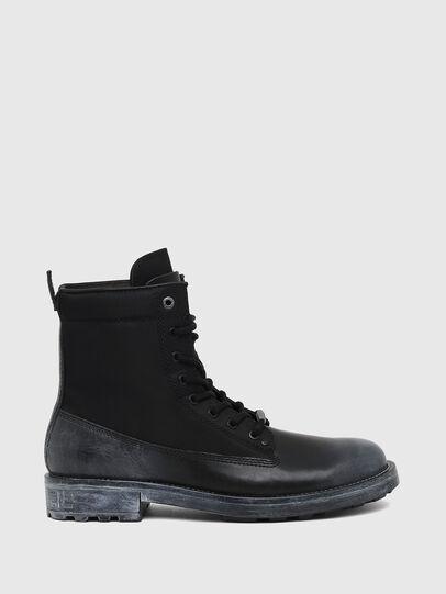 Diesel - D-THROUPER DBBZ, Black - Boots - Image 1