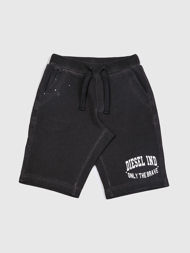 Diesel - PILLOR, Black - Shorts - Image 1