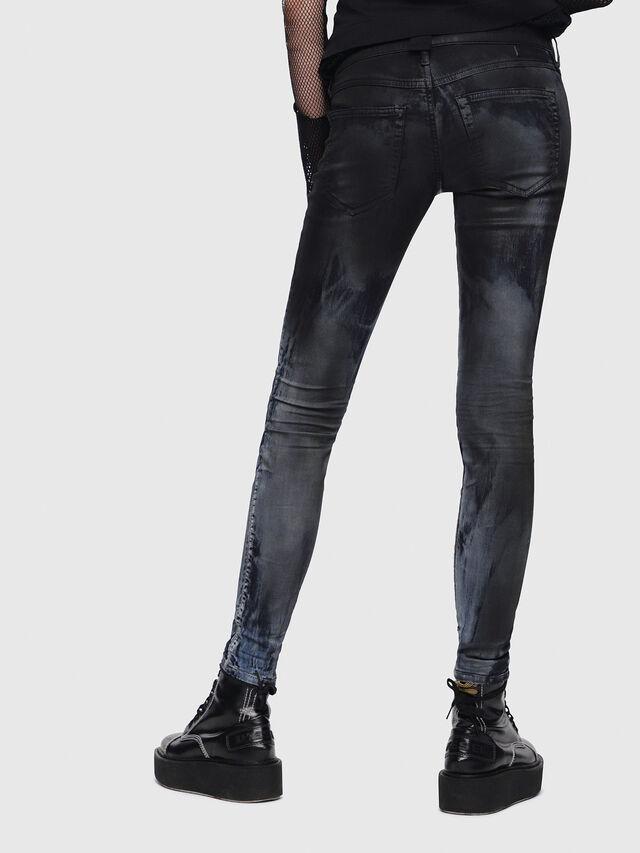 Diesel - Gracey JoggJeans 086AZ, Black/Dark grey - Jeans - Image 2