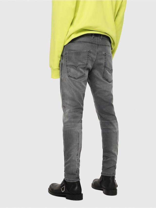 Diesel - Krooley JoggJeans 069EH, Black/Dark grey - Jeans - Image 2