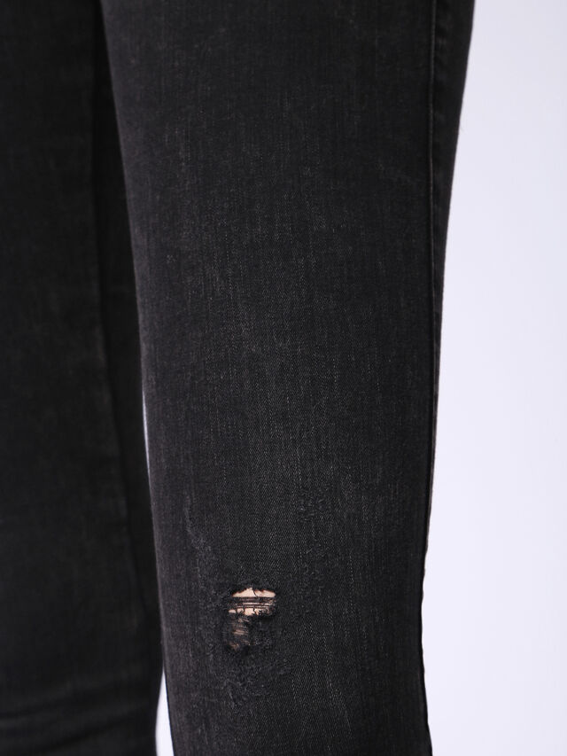 SKINZEE-LOW-S 0687G, Black Jeans