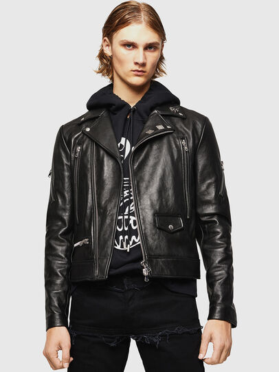 Diesel - L-PERF,  - Leather jackets - Image 1