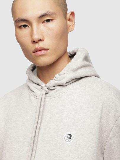 Diesel - S-AFTER, Light Grey - Sweaters - Image 5