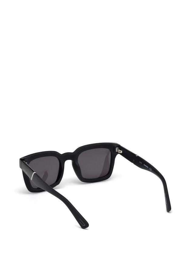Diesel DL0229, Black - Eyewear - Image 4
