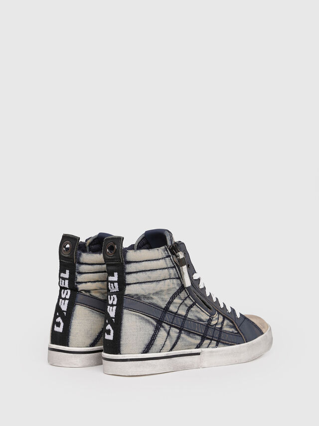 Diesel - D-VELOWS MID LACE, Blue Jeans - Sneakers - Image 3