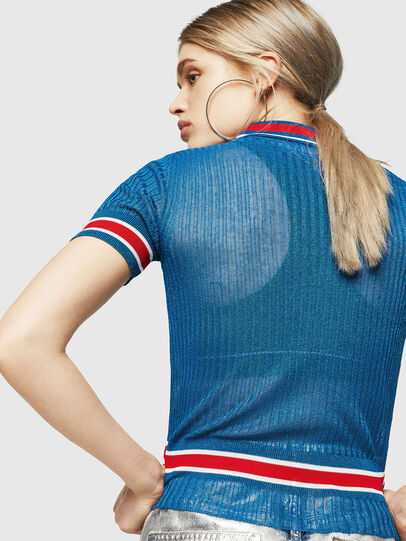 Diesel - M-FRES, Brilliant Blue - Knitwear - Image 2