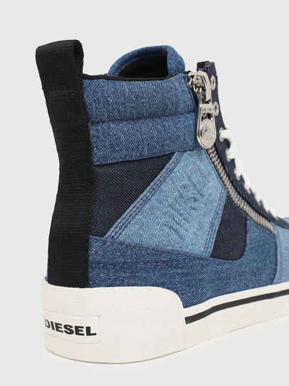 Diesel - S-DVELOWS MID CUT, Blue - Sneakers - Image 5