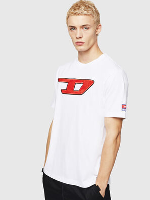 T-JUST-DIVISION-D, White - T-Shirts