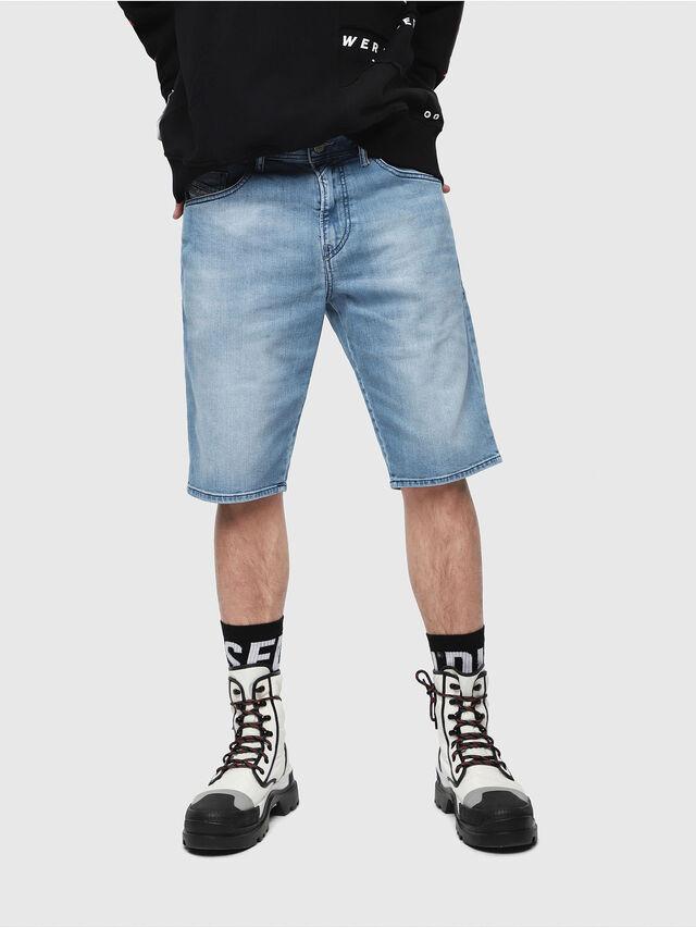 Diesel THOSHORT, Light Blue - Shorts - Image 1