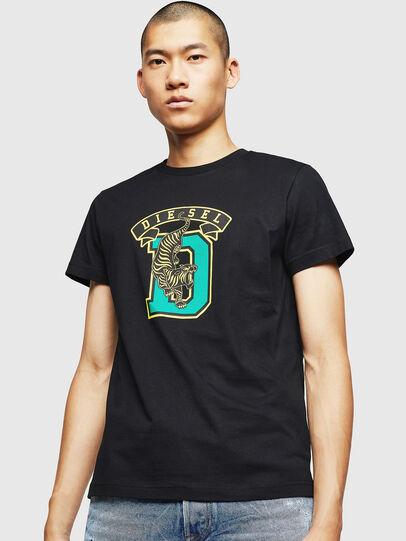 Diesel - T-DIEGO-B4, Black - T-Shirts - Image 1