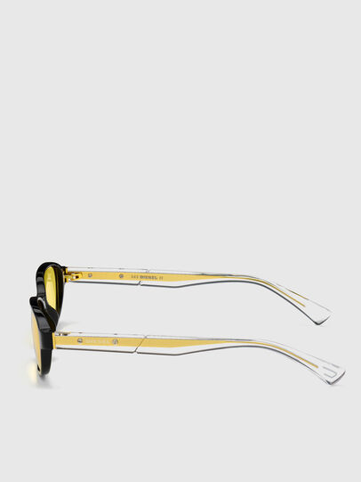 Diesel - DL0326, Yellow - Sunglasses - Image 3