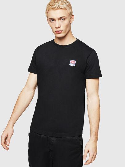 Diesel - T-DIEGO-DIV, Black - T-Shirts - Image 1
