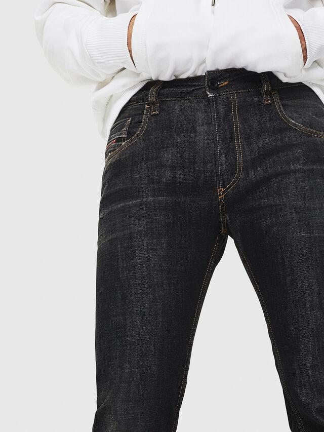 Diesel - D-Ligenz 8880W, Black/Dark grey - Jeans - Image 3