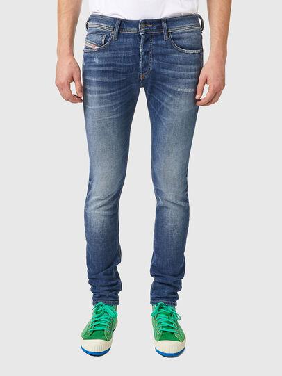 Diesel - Sleenker 09A86, Light Blue - Jeans - Image 1