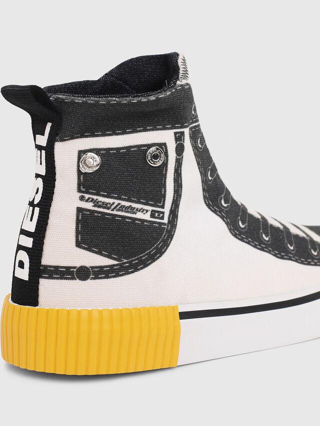 Diesel - SN MID 08 GRAPHIC CH, White/Black - Footwear - Image 4