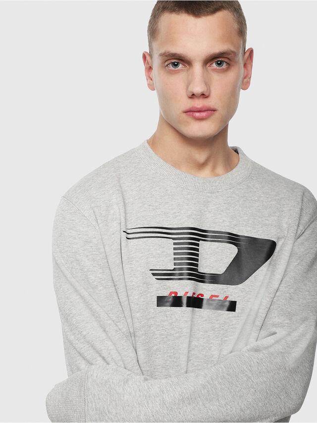 Diesel - S-GIR-Y4, Light Grey - Sweaters - Image 3