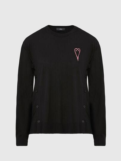 Diesel - M-TERESA, Black - Knitwear - Image 1