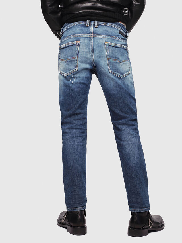 Diesel - Thommer JoggJeans 087AK, Dark Blue - Jeans - Image 2
