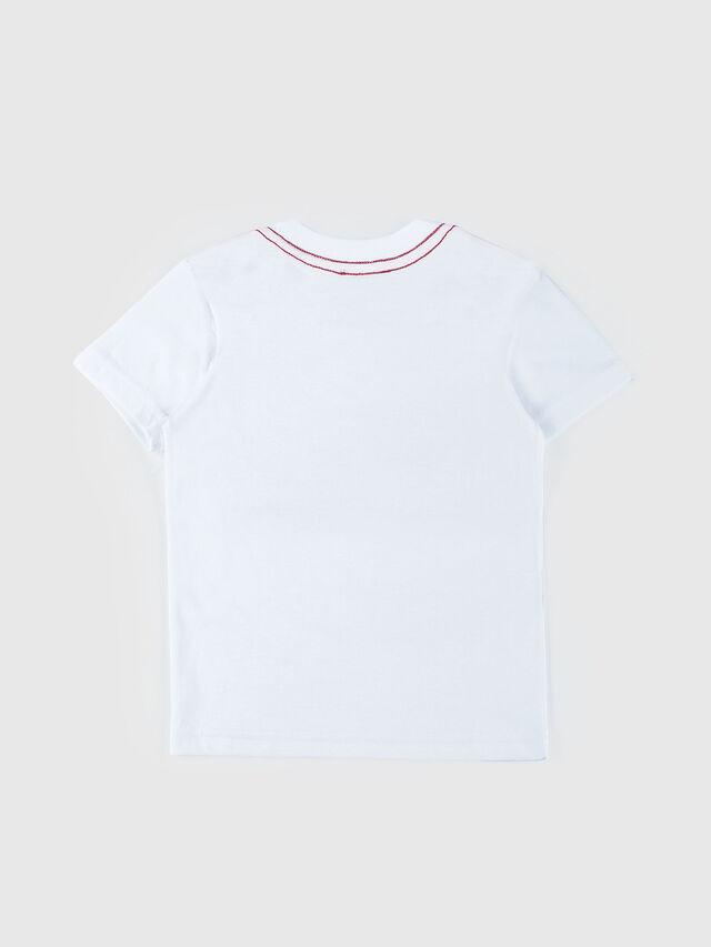 Diesel - TOQUEB MC-R, White - T-shirts and Tops - Image 2
