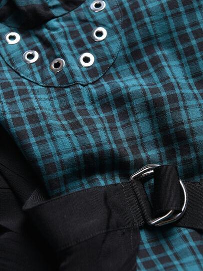 Diesel - DBAGGY, Green/Black - Dresses - Image 3