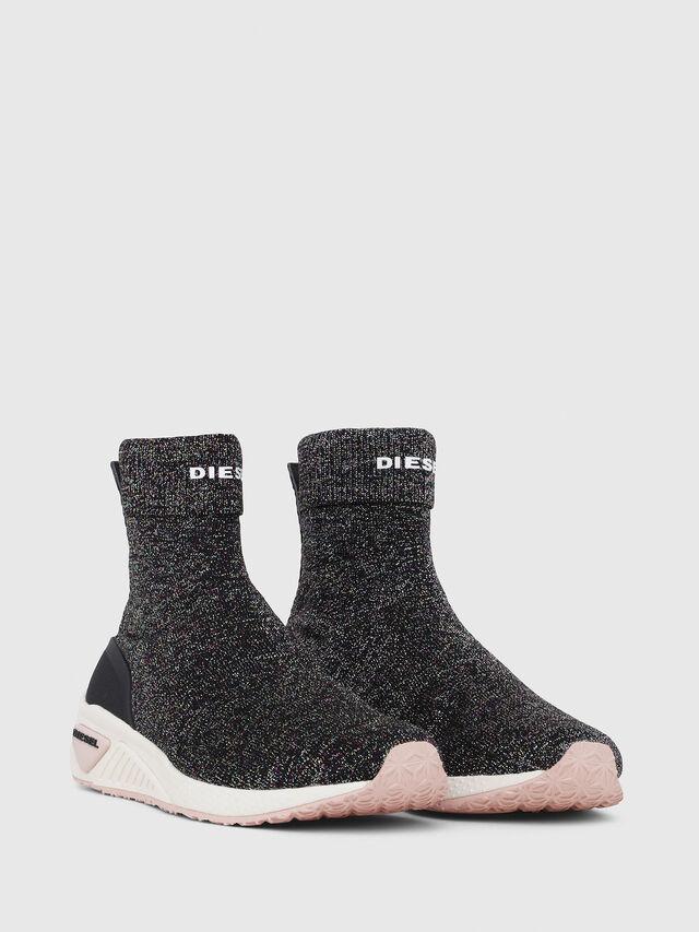 Diesel - S-KBY SOCK W, Multicolor/Black - Sneakers - Image 2