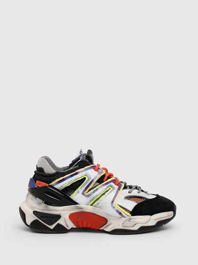 Diesel - S-KIPPER SK, White/Black - Sneakers - Image 1