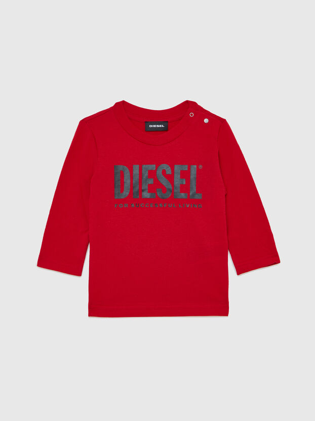 TJUSTLOGOB ML, Red - T-shirts and Tops