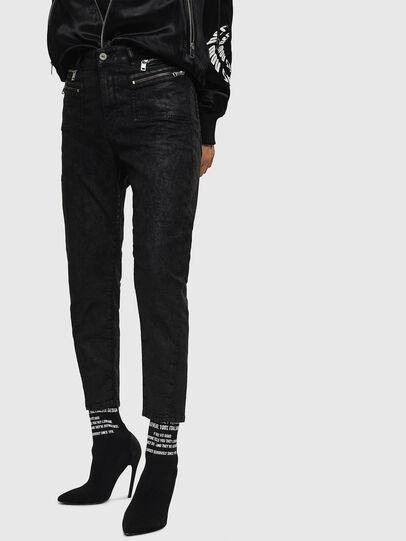 Diesel - D-Eifault JoggJeans 084AG, Black/Dark grey - Jeans - Image 6