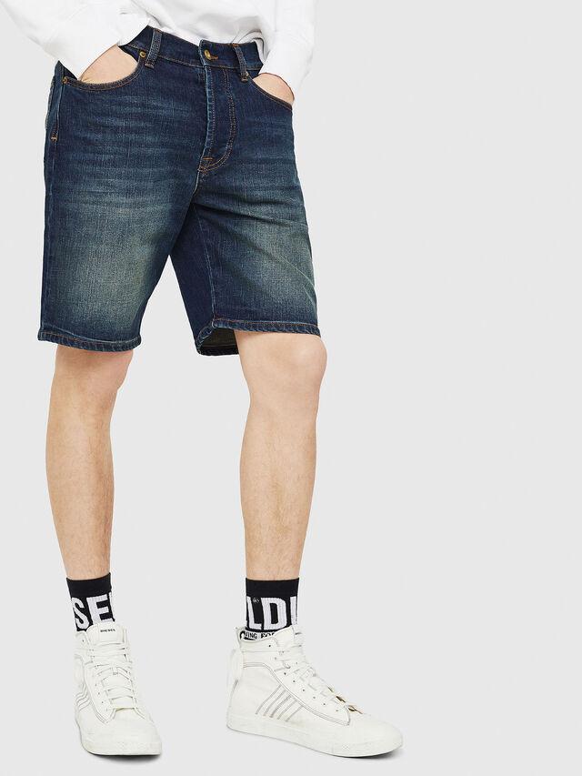 Diesel - D-MIRK, Medium blue - Shorts - Image 1