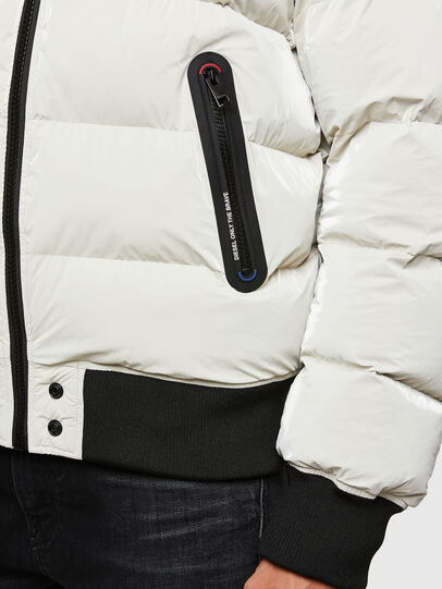 Diesel - W-ON-A, White - Winter Jackets - Image 5