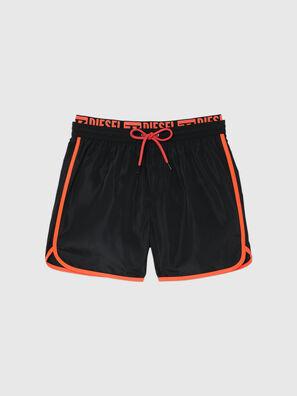 BMBX-DOLPHIN-R, Black - Swim shorts