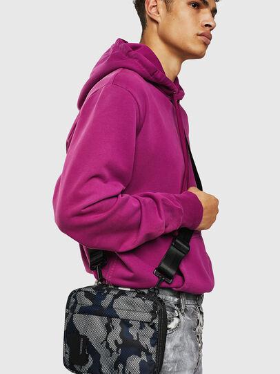 Diesel - ODERZO, Grey/Blue - Crossbody Bags - Image 7