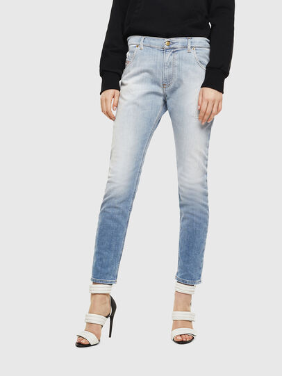 Diesel - Krailey JoggJeans 0099R, Light Blue - Jeans - Image 1