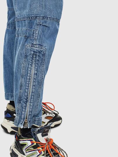 Diesel - D-Luks 009CL, Light Blue - Jeans - Image 5