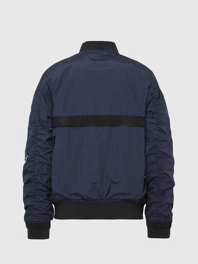 Diesel - J-DUST-KA, Dark Blue - Jackets - Image 2