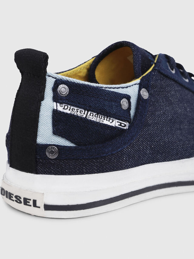 Diesel - EXPOSURE LOW I, Dark Blue - Sneakers - Image 5