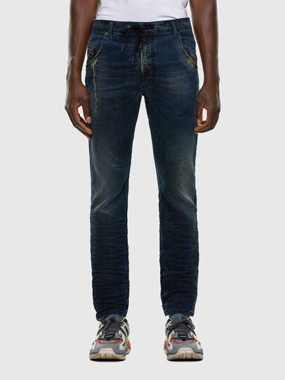 Diesel - KROOLEY JoggJeans® 069NP, Dark Blue - Jeans - Image 1