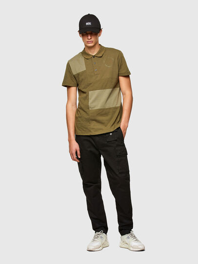 Diesel - T-POLWORK, Military Green - Polos - Image 4