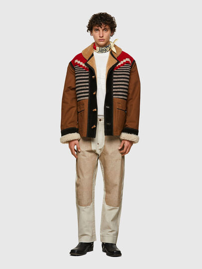 Diesel - DxD-1, Brown - Jackets - Image 5