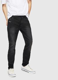 Krooley Long JoggJeans 0670M, Black