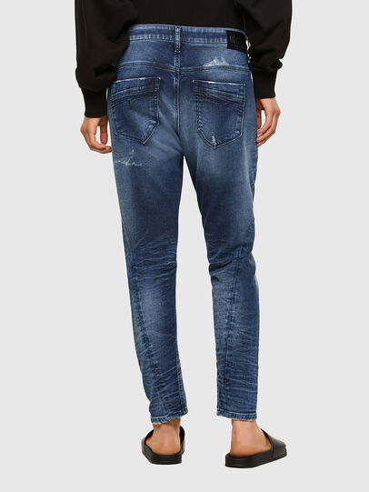Diesel - Fayza JoggJeans® 0096M, Dark Blue - Jeans - Image 2