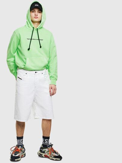 Diesel - S-GIRK-HOOD-FLUO, Green Fluo - Sweaters - Image 7