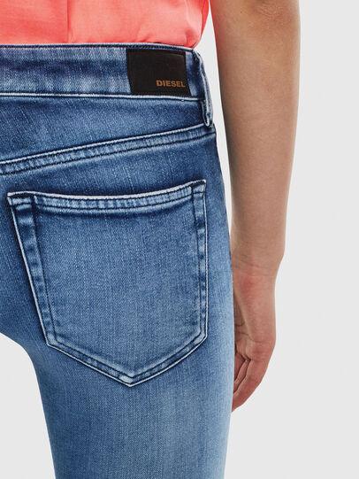 Diesel - Slandy Low 0095P, Light Blue - Jeans - Image 4